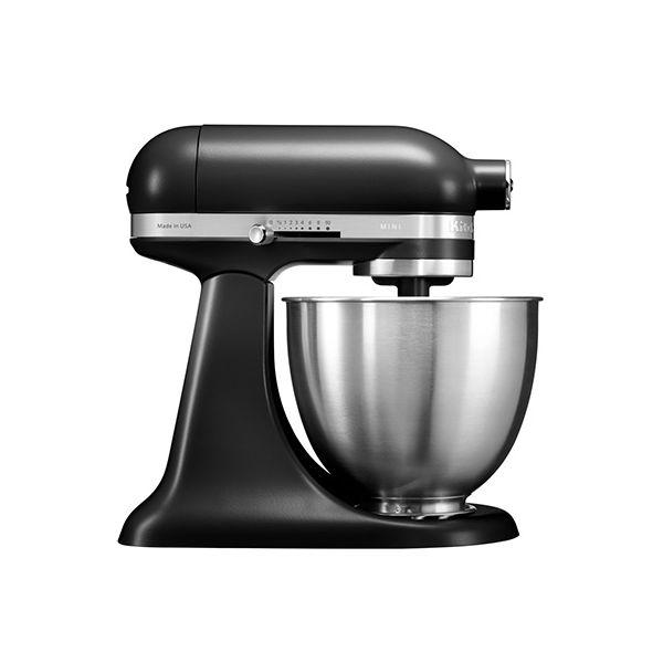 Kitchenaid 5KSM3311XBBM 3.3L Mini Tilt-Head Stand Mixer Black Matte