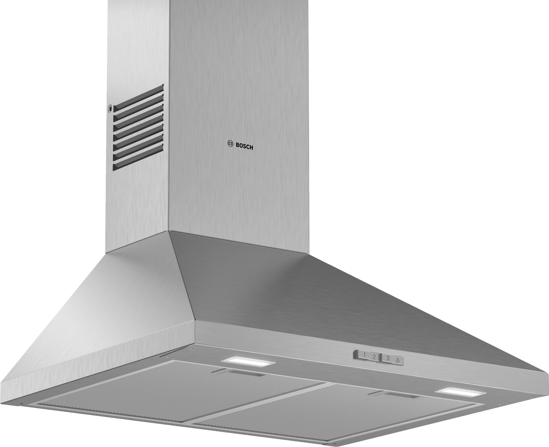 Bosch  Serie | 2 DWP64BC50B 60cm Wall Mounted Cooker Hood Stainless Steel