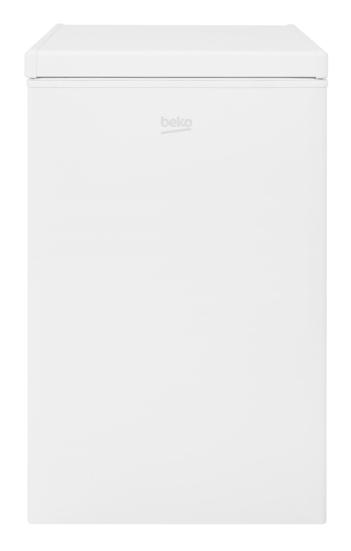 Beko CF374W Freestanding Chest Freezer with Freezer Guard-White