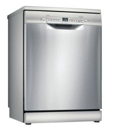 Bosch SMS2ITI41G 60cm Freestanding Dishwasher Silver Inox
