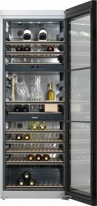 Miele KWT6834 SGS Freestanding Wine Conditioning Unit with FlexiFrame and SommelierSet