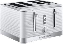 Russell Hobbs 24380 Inspire 4 Slice Toaster - White