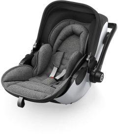 Kiddy Evo Luna i-Size 2 Car Seat & Base Grey Melange/Icy Grey