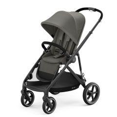 Cybex 520002127 Gazelle S Pushchair - Black Frame/Soho Grey Fabric