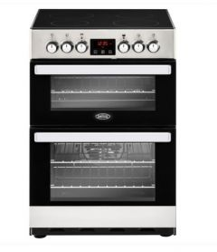 Belling 60ESTA 400000709  Cookcentre Electric Cooker 60cm - Stainless Steel