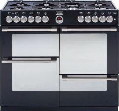 STOVES STERLINGR1000DFT 100cm Dual Fuel Range Cooker (Black)
