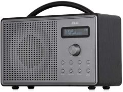 Akai A61035 Mono DAB/FM Radio and Alarm Function with LCD Backlight Screen