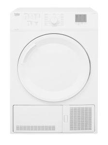 Beko DTGCT7000W Freestanding 7kg Condenser Tumble Dryer-White