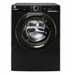 Hoover H3W582DBBE 8Kg 1500 Spin One Touch Washing Machine - Black