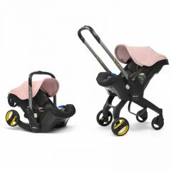 Doona+ Infant Car Seat Stroller Blush Pink