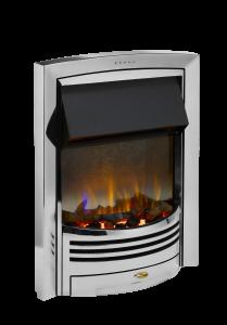 Dimplex GLN20CH Glencoe Chrome Optiflame 3D Electric Inset Fire