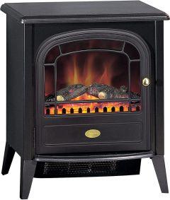 Dimplex CLB20E Club Electric Optiflame Fire Stove - Black