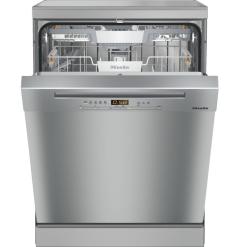 Miele G5210SC-CLS Freestanding Dishwasher - Clean Steel