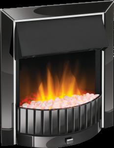 Dimplex DLS20BN-LED Delius Electric Fire, Black Nickel