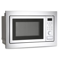 Montpellier MWBI90025 Built-In Microwave & Grill-Stainless Steel