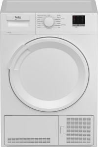Beko DTLC100051W Freestanding 10kg Condenser Tumble Dryer-White
