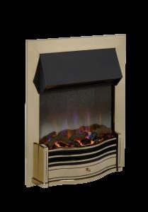 Dimplex DMF20AB Dumfries Antique Brass Optiflame 3D Electric Inset Fire