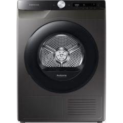 Samsung DV80T5220AX/S1 8Kg Optimaldry™, Heat Pump Tumble Dryer - Inox