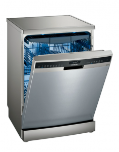 Siemens SN25ZI49CE 60cm Freestanding Dishwasher - Stainless Steel