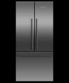 Fisher Paykel RF522ADB5 Freestanding French Style Fridge Freezer-Black Steel