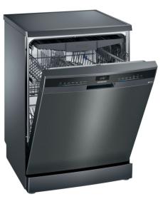 Siemens SN23EC14CG 60cm Freestanding Dishwasher - Black Steel