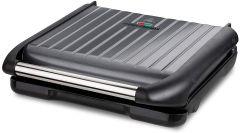 George Foreman 25051 7 Portion Electric Health Grill-Grey
