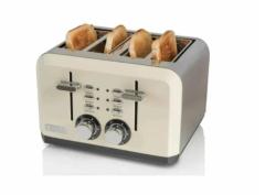 Haden 183460 Perth Cream 4 Slice Toaster - Cream