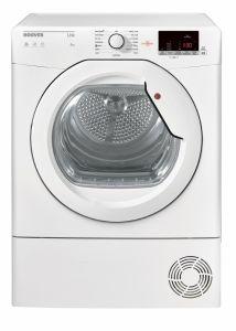 Hoover HLC8DG Freestanding 8kg Condenser Tumble Dryer White