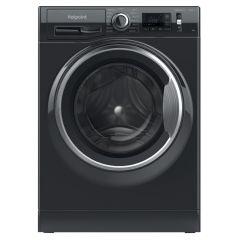 Hotpoint NM11945BCAUKN 9kg 1400 Spin Washing Machine - Black