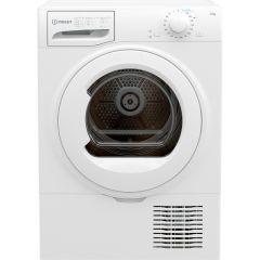 Indesit I2D81W Freestanding Condenser Dryer 8kg - White