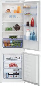 Beko BCFD3V73 Integrated 70:30 Frost Free Combi Fridge Freezer with HarvestFresh™