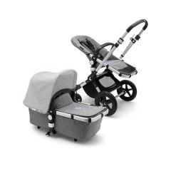 Bugaboo 232155GM01 Cameleon³ Plus Base - Aluminium + Grey Melange