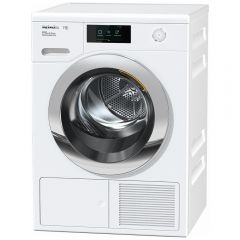 Miele TCR860WP T1 Heat-Pump Tumble Dryer with Steam Finish-White