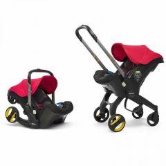 Doona+ Infant Car Seat Stroller Flame Red