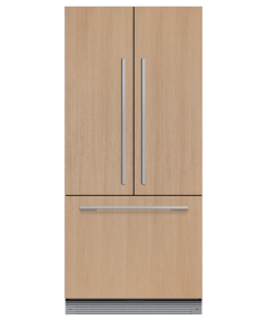 Fisher Paykell RS80A2 80cm Integrated French Door Refrigerator Freezer