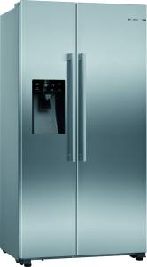 Bosch KAD93VIFPG American Side By Side Fridge Freezer No Frost-Stainless Steel
