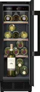Siemens KU20WVHF0G Wine cooler with glass door, 82x30cm under counter