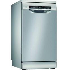 Bosch SPS4HKI45G 45cm Freestanding Slimline Dishwasher Silver/Inox
