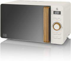 Swan SM22036WHTN Nordic 20 Litre Microwave - White