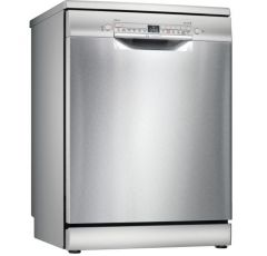 Bosch SMS2HKI66G 60cm Freestanding Dishwasher - Silver Inox