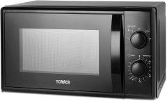 Tower T24034BLK 20Litre 700W Microwave - Black