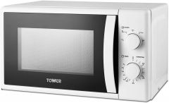 Tower T24034WHT 20Litre 700W Microwave - White