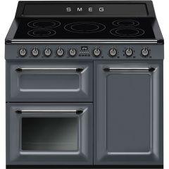 Smeg TR103IGR 100cm Victoria Induction Range Cooker - Slate Grey