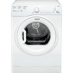 Hotpoint TVFS83CGP Tumble Dryer 8Kg Vented Sensor - White