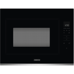 Zanussi ZMBN4SX Integrated Microwave Black/Stainless Steel
