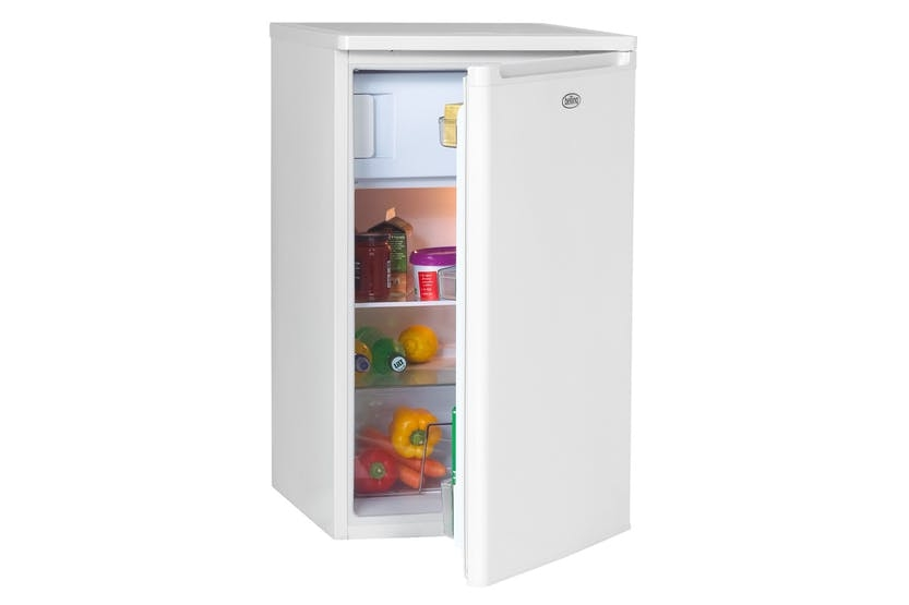 Belling BR98WH 98L Under Counter 50cm Fridge With Freezer-White