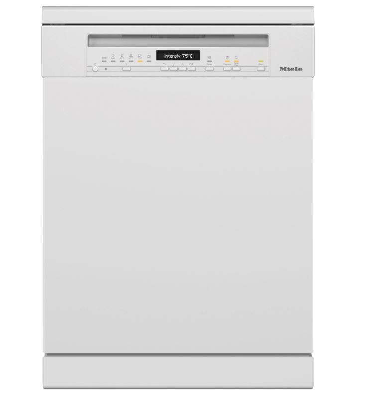 Miele G7110SCBRWH Freestanding Dishwashers With Automatic Dispensing - White