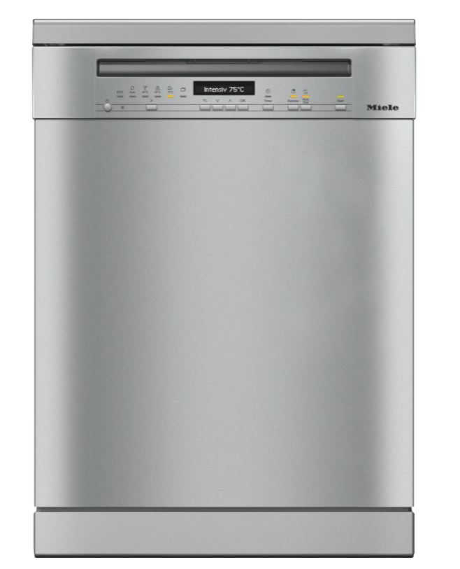 Miele G7110SCCLST Freestanding Dishwashers With Automatic Dispensing - Clean Steel