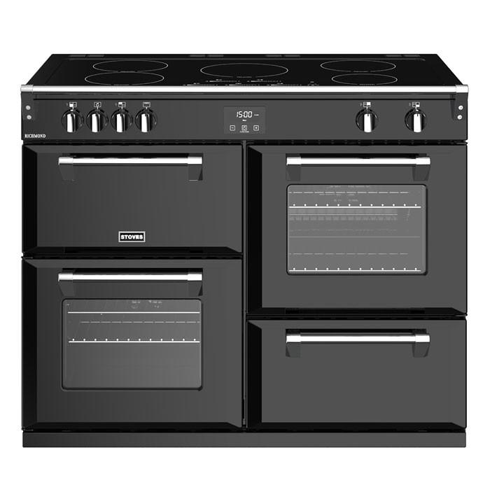 Stoves Richmond RCHS1100EiBK 110cm Electric Induction Range Cooker - Black