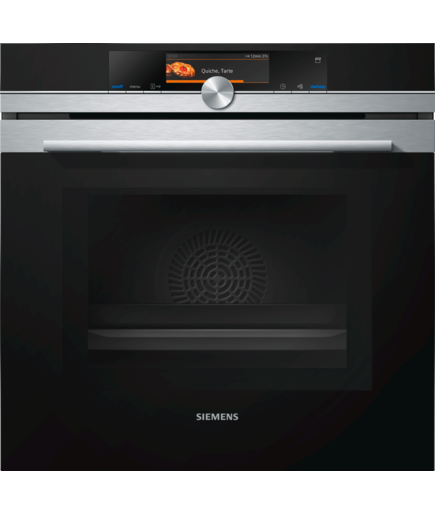 Siemens HN678GES6B Built in oven with Added Steam & Microwave Function-Stainless Steel